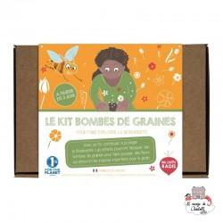 Kit bombes de graines - LPR-K002 - Les Petits Radis - Nature et découvertes - Le Nuage de Charlotte