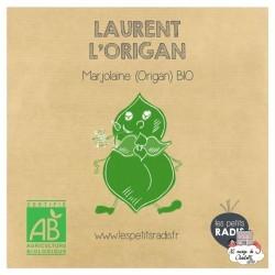 Mini kit de graines BIO de Laurent l'origan - LPR-G081 - Les Petits Radis - Nature et découvertes - Le Nuage de Charlotte
