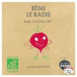 Mini kit de graines BIO de Rémi le radis - LPR-G051 - Les Petits Radis - Nature et découvertes - Le Nuage de Charlotte