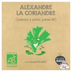 Mini kit de graines BIO d'Alexandre la coriandre - LPR-G071 - Les Petits Radis - Nature et découvertes - Le Nuage de Charlotte