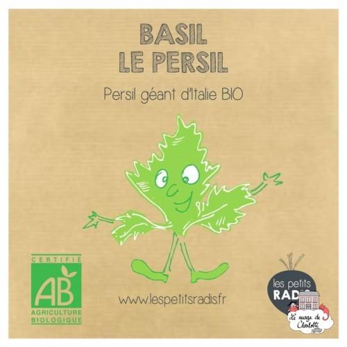Mini kit de graines BIO de Basile le persil - LPR-G101 - Les Petits Radis - Nature et découvertes - Le Nuage de Charlotte