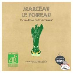 Mini kit de graines BIO de Marceau le poireau - LPR-G232 - Les Petits Radis - Nature et découvertes - Le Nuage de Charlotte
