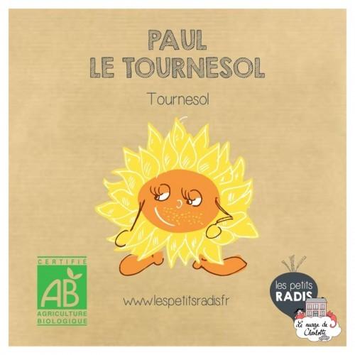 Mini kit de graines BIO de Paul le tournesol - LPR-G131 - Les Petits Radis - Nature et découvertes - Le Nuage de Charlotte