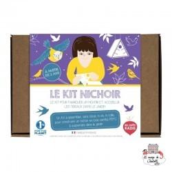 Kit Nichoir - LPR-K004 - Les Petits Radis - Nature et découvertes - Le Nuage de Charlotte