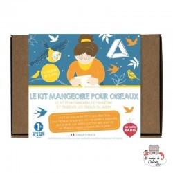 Kit Mangeoire - LPR-K009 - Les Petits Radis - Nature et découvertes - Le Nuage de Charlotte