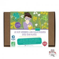 Kit aromatiques BIO des enfants - LPR-K006 - Les Petits Radis - Nature et découvertes - Le Nuage de Charlotte