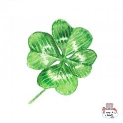 Sioou Lovely tatoo Four-leaf clover (x5) - SIO-BLC11 - Sioou - Temporary Tattoos - Le Nuage de Charlotte