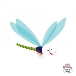 Sioou Lovely tatoo Dragonfly (x5) - SIO-KC03 - Sioou - Temporary Tattoos - Le Nuage de Charlotte