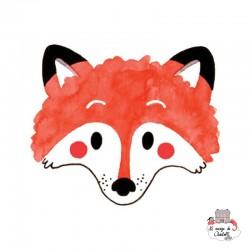 Sioou Lovely tatoo Fox (x5) - SIO-KC09 - Sioou - Temporary Tattoos - Le Nuage de Charlotte