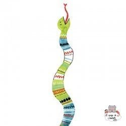 Sioou Lovely tatoo Snake (x5) - SIO-KB02 - Sioou - Temporary Tattoos - Le Nuage de Charlotte