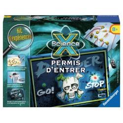 ScienceX Mini - Permis d'entrer - RAV-181964 - Ravensburger - Discovery boxes - Le Nuage de Charlotte