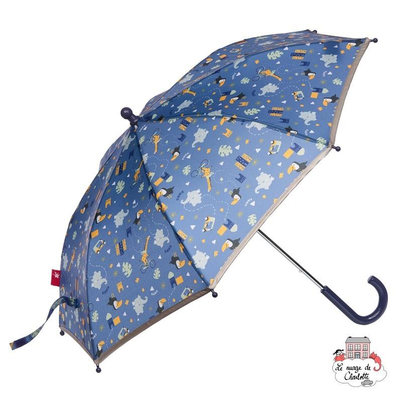 SIGIKID Parapluie bicolores Enfants Parapluie faltschirm Parapluie Enfants Bleu Ø 82 cm