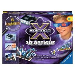 ScienceX Mini - 3D optique - RAV-181551 - Ravensburger - Discovery boxes - Le Nuage de Charlotte