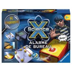 ScienceX Mini - Alarme de bureau - RAV-181933 - Ravensburger - Discovery boxes - Le Nuage de Charlotte