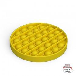 Fidget Game Pop It - Round - Yellow - NUA001RJ - Les Jouets d'Antoine - Activity Toys - Le Nuage de Charlotte
