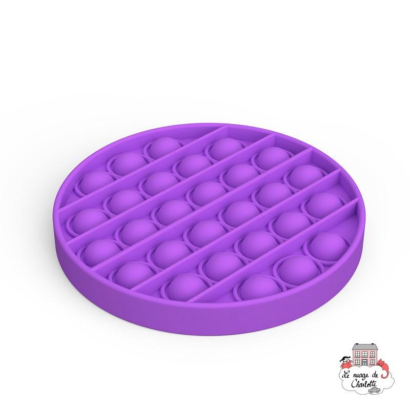 Fidget Game Pop It - Round - Violet - NUA001RM - Les Jouets d'Antoine - Activity Toys - Le Nuage de Charlotte