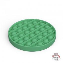 Fidget Game Pop It - Round - Green - NUA001RV - Les Jouets d'Antoine - Activity Toys - Le Nuage de Charlotte