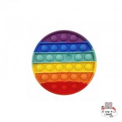 Fidget Game Pop It - Round - Rainbow - NUA001RR - Les Jouets d'Antoine - Activity Toys - Le Nuage de Charlotte