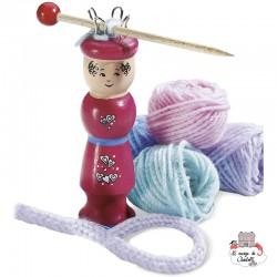 Knitting - SDT-88508 - Schmidt - Creative Kits - Le Nuage de Charlotte