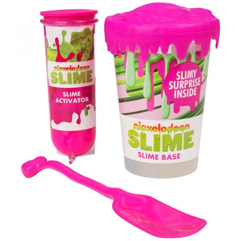 Nickelodeon Slime Make you Own - pink - SAM-SLM-3284-2 - Sambro - Sand and Playdough - Le Nuage de Charlotte