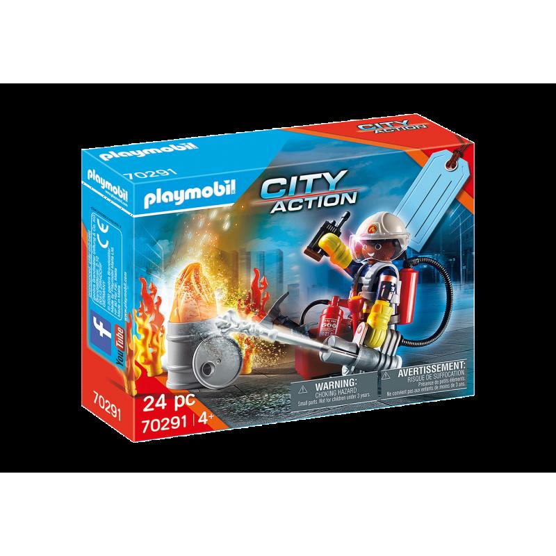 playmobil - Fire Rescue Gift Set - PLA-70291 - Playmobil - Playmobil - Le Nuage de Charlotte