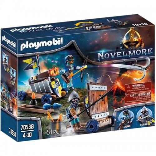 playmobil - Novelmore - Novelmore Defense squad - PLA-70538 - Playmobil - Playmobil - Le Nuage de Charlotte