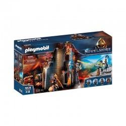 playmobil - Novelmore - Burnham Raiders Flaming Ruins - PLA-70539 - Playmobil - Playmobil - Le Nuage de Charlotte