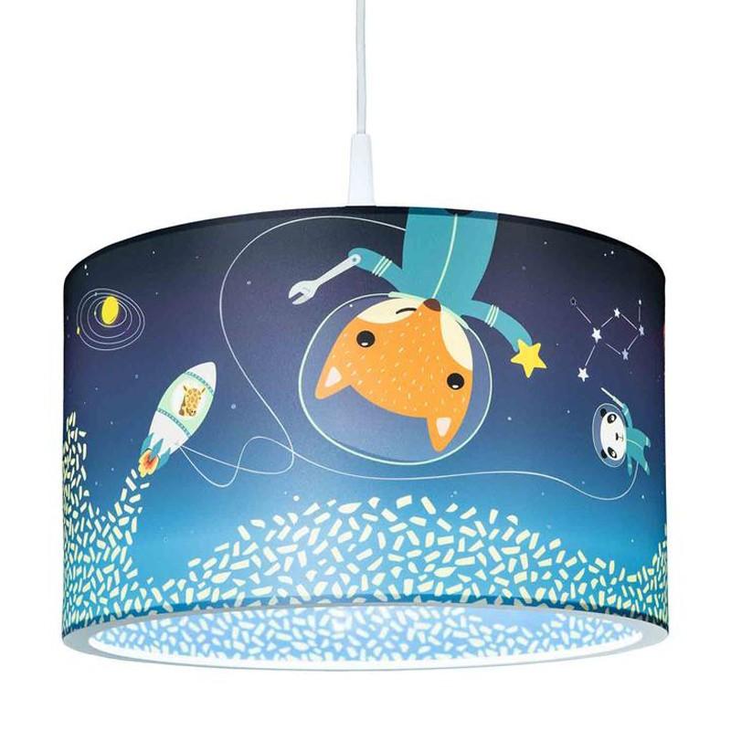"Pendant lamp Little Astronauts ""Space Mission"" - ELO-138397 - Elobra - Wall and ceilings lights - Le Nuage de Charlotte"