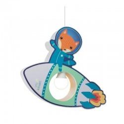 "Pendant lamp Little Astronauts ""Rocket"" - ELO-137987 - Elobra - Wall and ceilings lights - Le Nuage de Charlotte"