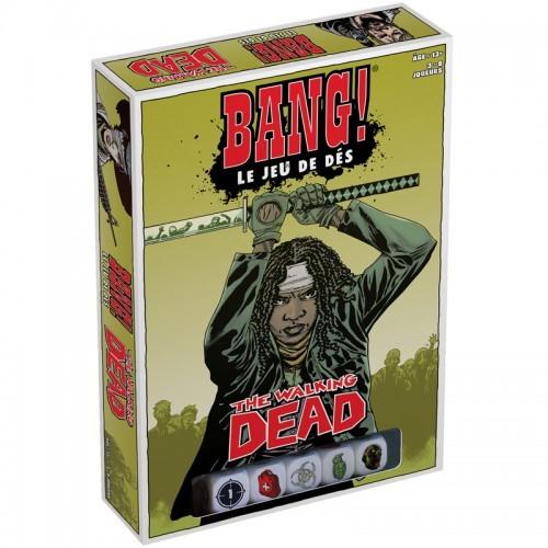 """Bang! - Le Jeu de dés """"The Walking Dead"""" - DVG-191006 - dV Giochi - Jeux de société - Le Nuage de Charlotte"""