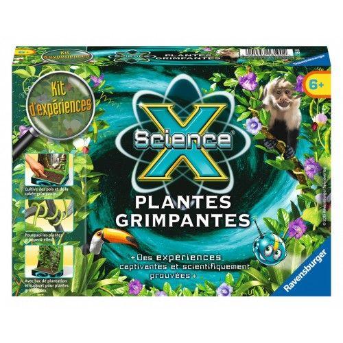 ScienceX Mini - Plantes grimpantes - RAV-181902 - Ravensburger - Discovery boxes - Le Nuage de Charlotte