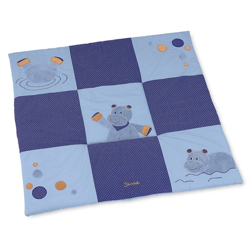 Playmat Norbert the hippopotamus - STE-9101620 - Sterntaler - Baby Playmat - Le Nuage de Charlotte