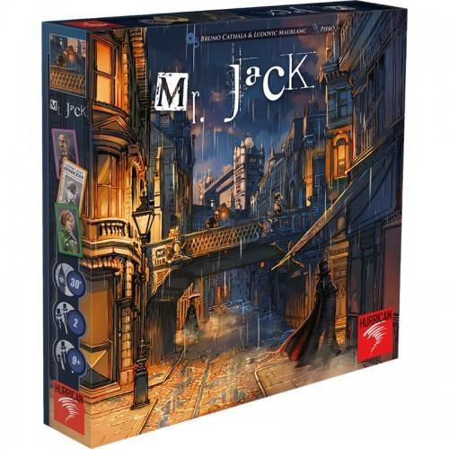 Mr. Jack - Londres - Édition révisée - HUR-760031 - Days of Wonder - Jeux de société - Le Nuage de Charlotte