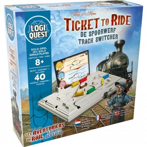 Logiquest - Les Aventuriers du Rail - Le défi des locos - MIX-191344 - Mixlore - Jeux de société - Le Nuage de Charlotte
