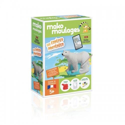 mako moulages - Ours polaire - MAK-39062 - Mako Créations - Kits Créatifs - Le Nuage de Charlotte