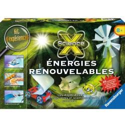 ScienceX Midi - Energies renouvelables - RAV-188734 - Ravensburger - Discovery boxes - Le Nuage de Charlotte