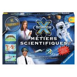 ScienceX Midi - Métiers scientifiques - RAV-188765 - Ravensburger - Discovery boxes - Le Nuage de Charlotte