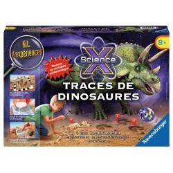 ScienceX Midi - Traces de dinosaures - RAV-189823 - Ravensburger - Discovery boxes - Le Nuage de Charlotte