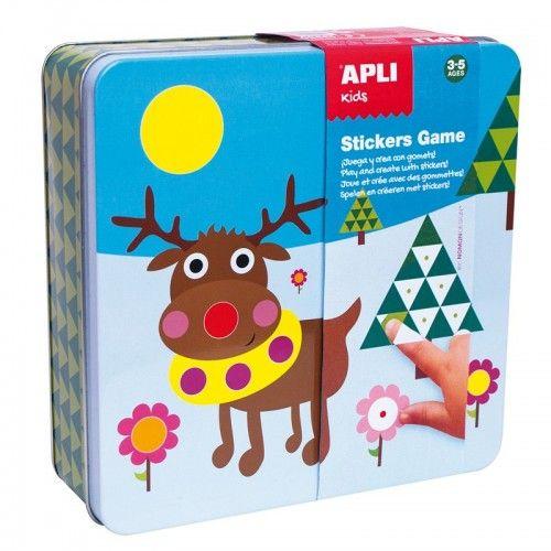 Stickers Game - Polar World
