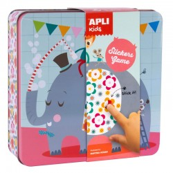 Stickers Game - Elephant