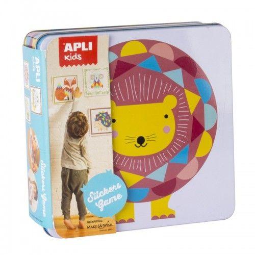 Stickers Game - Lion - APL014590 - APLI - Stickers - Le Nuage de Charlotte