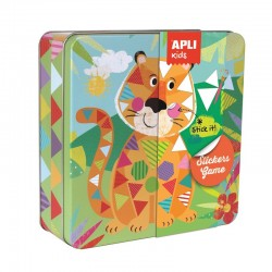 Stickers Game - Tiger