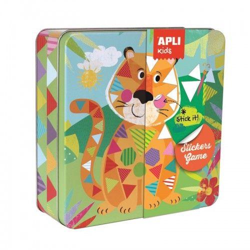 Stickers Game - Tiger - APL-15223 - APLI - Stickers - Le Nuage de Charlotte