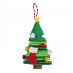 Christmas Craft Kit - Christmas Tree - APL-14346 - APLI - Creative Kits - Le Nuage de Charlotte
