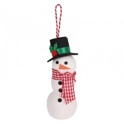 Christmas Craft Kit - Snowman - APL-14347 - APLI - Creative Kits - Le Nuage de Charlotte