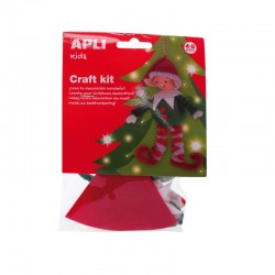 Christmas Craft Kit - Christmas Elf - APL-13939 - APLI - Creative Kits - Le Nuage de Charlotte