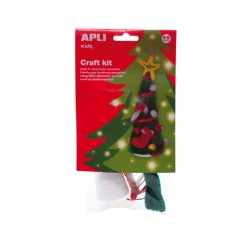 Christmas Craft Kit - Christmas Tree - APL-13937 - APLI - Creative Kits - Le Nuage de Charlotte