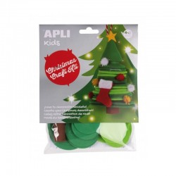 Christmas Craft Kit - Christmas Tree - APL-14346S - APLI - Creative Kits - Le Nuage de Charlotte