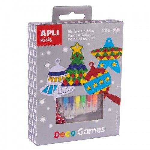 Deco Games - Peins et Colorie - APL014972 - APLI - Kits Créatifs - Le Nuage de Charlotte