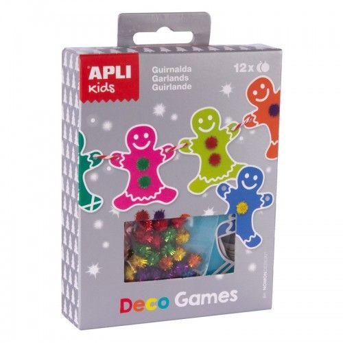 Deco Games - Guirlande - APL014973 - APLI - Kits Créatifs - Le Nuage de Charlotte